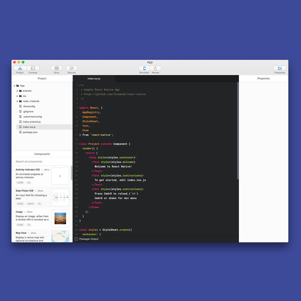 Deco - React Native IDE