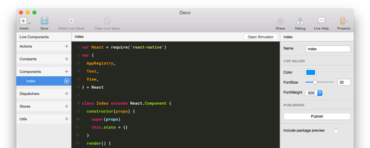 Deco: React Native IDE